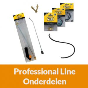 Onderdelen Professional Line