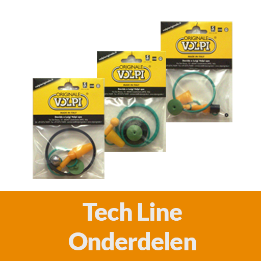 Categorie volpi tech line onderdelen